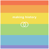 Making History - Love Wins Making History - Love Wins Gay Pride Marriage Equality Symbol Poster Marriage Equality Symbol Poster Making History - Love Wins Making History - Love Wins Pride Flag Fleece Blanket Love Wins Rainbow Flag Gay Pride Rainbow Flag Print Poster Man Hands Painted As The Rainbow Flag Forming A Heart, Symbolizing Gay Love Making History - Love Wins LGBT social movements