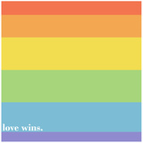 Making History - Love Wins Pride Flag Fleece Blanket Love Wins Rainbow Flag Gay Pride Rainbow Flag Print Poster Man Hands Painted As The Rainbow Flag Forming A Heart, Symbolizing Gay Love Making History - Love Wins LGBT social movements