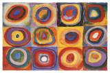Farbstudie Quadrate, c.1913