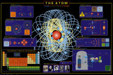 The Atom Illustrated Periodic Table of the Elements Educational Poster Periodic Table of Elements Periodic Table of the Elements Dark Blue Periodic Table of the Elements Illustrated Periodic Table Of The Elements