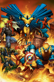 The New Avengers No.1 Cover: Spider-Man Wolverine Origins No. 50: Wolverine X-Men No. 1: Cyclops, Rogue, Frost, Emma, Colossus, Wolverine, Storm, Magneto, Archangel Wolverine No.3 Cover: Wolverine and Logan Flying Marvel 1985 Must Have Cover: Magneto Wolverine Punisher No.1 Cover: Wolverine and Punisher Avengers No.12.1 Cover: Captain America, Hawkeye, Wolverine, Spider-Man, Iron Man, and Others Uncanny X-Men No.126 Cover: Wolverine, Colossus, Storm, Cyclops, Nightcrawler and X-Men Fighting Marvel Comics - Wolverine (Retro) Wolverine: Origins No.28 Cover: Wolverine Secret Wars No.1 Cover: Captain America Avengers Classics No.1 Cover: Hulk X-Men Forever Alpha No. 1: X-Men No. 1: Beast, Storm, Gambit, Psylocke, Colossus, Rogue, Wolverine Marvel Comics Retro: The Incredible Hulk Comic Book Cover No.181, with Wolverine (aged)