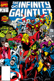 Infinity Gauntlet No.3 Cover: Adam Warlock Uncanny X-Men No.126 Cover: Wolverine, Colossus, Storm, Cyclops, Nightcrawler and X-Men Fighting Wolverine: Origins No.28 Cover: Wolverine Avengers Classics No.1 Cover: Hulk Secret Wars No.1 Cover: Captain America X-Men Forever Alpha No. 1: X-Men No. 1: Beast, Storm, Gambit, Psylocke, Colossus, Rogue, Wolverine Marvel Comics Retro: The Incredible Hulk Comic Book Cover No.181, with Wolverine (aged)