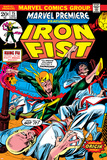 The Immortal Iron Fist: Marvel Premiere No.15 Cover: Iron Fist The Immortal Iron Fist No.12 Cover: Iron Fist Swinging Iron Fist: The Living Weapon No. 3: Iron Fist, Rand, Danny, Kung, Lei Marvel Comics Retro Style Guide: Iron Fist