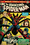 Marvel Comics Retro: The Amazing Spider-Man Comic Book Cover No.135, Return of the Punisher! (aged) Marvel - The Punisher Thuderbolts #12 Cover: Punisher, Venom, Elektra, Deadpool, Red Hulk Wolverine Punisher No.1 Cover: Wolverine and Punisher