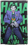 DC Comics- Joker 'Haha' Banner The Joker - Arkham Asylum Game Lifesize Standup Joker 2 Suicide Squad- Joker And Harley Quinn Love Hurts DC Comics - The Joker Batman Comic Joker Needs You The Joker- The Killing Joke Laughs Joker Blacklight Poster Joker Batman Comic - Joker Bats Batman- The Killing Joke Cover