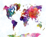 World Map II Watercolor London England Street Map World Watercolor Map 1 World Map in Watercolorpurple and Blue World Map Watercolor (Cool)