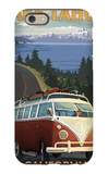Lake Tahoe, California - VW Coastal Drive Keith Richards Elvis Watercolor Dude Abides iPhone 6S Case The Famous Summer Park Guell Over Bright Blue Sky In Barcelona, Spain The Birth of Venus Day of the Dead - Crossbones Cirque du Brun I