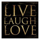 Live Laugh Love Square
