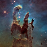 Images of the 'Pillars of Creation' in the Eagle Nebula Earthrise Over Moon, Apollo 8 The Andromeda Galaxy Classic You Are Here Galaxy Space Science Poster Print The Andromeda Galaxy Panorama View of the Center of the Milky Way NASA/JPL: Visions Of The Future - Earth Earthrise Over Moon, Apollo 8 The Solar System
