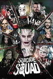 Suicide Squad- Circle Of Bad Suicide Squad- Harley Quinn Ka POW! Suicide Squad- Sugar Skulls Suicide Squad- Joker Close-Up Suicide Squad- Worst Heroes Ever One Sheet Suicide Squad- In Squad We Trust Suicide Squad - Good Night Suicide Squad- Harley Wanted Suicide Squad- Joker & Harley Power Couple Suicide Squad- Harley Quinn Good Night suicide squad