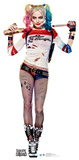 Harley Quinn - Suicide Squad Lifesize Cardboard Cutout Suicide Squad- Harley Wanted Suicide Squad- Joker & Harley Power Couple Suicide Squad- Darling Harley Quinn Suicide Squad- Harley Quinn Good Night suicide squad