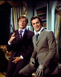 The Persuaders! The Persuaders Roger Moore Michelin, Tire James Bond The Persuaders Roger Moore, Britt Ekland, Maud Adams, The 007, James Bond: Man with the Golden Gun,1974 The Persuaders!