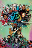 Suicide Squad- Worst Heroes Ever One Sheet Suicide Squad- In Squad We Trust Suicide Squad - Good Night Suicide Squad- Harley Wanted Suicide Squad- Joker & Harley Power Couple Suicide Squad- Harley Quinn Good Night suicide squad