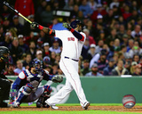 David Ortiz 2016 Action Boston Red Sox - Martinez, Boggs, Lynn, Williams, Yastrzemski, Fisk, Ortiz, Doerr, Foxx, Rice, Pesk david ortiz