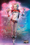 Suicide Squad- Harley Quinn Neon Glow