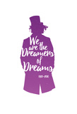Dreamers Of Dreams (Purple Silhouette) Willy Wonka & the Chocolate Factory Willy Wonka & the Chocolate Factory - Willy Wonka Willy Wonka and the Chocolate Factory, Gene Wilder (Center), 1971 Willy Wonka and the Chocolate Factory