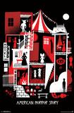 American Horror Story- Graphic Seasons American Horror Story- Twisty Freak Show Ticket