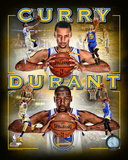 Stephen Curry & Kevin Durant 2016 Portrait Plus NBA Golden State Warriors Stephen Curry 2014 Portrait Plus Nothing But Splash Keep Calm and Splash On (Blue and Gold) stephen+curry