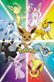 Pokemon- Eevee Evolution Pokemon - AOP Sublimated Cap Pokemon- Kanto Showdown Blastoise vs. Charizoid Pokemon- Kanto 151 Pokemon Group Gradient Snapback Pokemon- Kanto 151 pokemon
