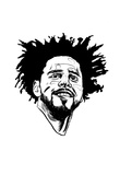 Role Model Cole Goosebumps Kendrick Lamar Music Poster Be Humble hip-hop