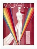 Vogue Cover - September 1926 Reproduction encadrée par Eduardo Garcia Benito