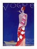 Vogue Cover - July 1926 - Flapper Nights Reproduction encadrée par Eduardo Garcia Benito