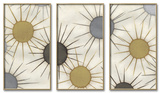 Starburst Triptych Set