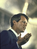 Senator Robert Kennedy on Campaign Trail During Presidential Primary Season