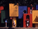 Children at Play in New York City Playgrounds