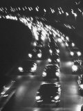 Night Traffic on the Major Deegan Expressway