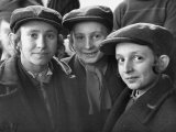 Jewish Children Posing for a Picture
