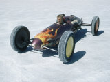 Bonneville Hot Rod Meet at the Bonneville Salt Flats in Utah