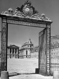 The Gates of the Versailles Palace  Built in the 18th Century  Where Royalty Resided