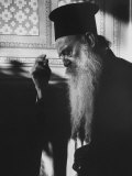 Patriarch Athenagoras at Daily Early Morning Prayer in His Private Chapel