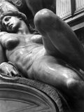 Reclining Figure Sculpted by Michelangelo from His Tomb of the Medici