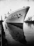 SS Oriana New Ship Passenger Liner Maiden Voyage in Pacific Ocean