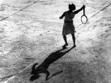 Woman Playing Tennis  Alfred Eisenstaedt's First Photograph Ever Sold