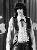 Punk Rock Singer Joey Ramone of The Ramones