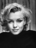 Portrait of Actress Marilyn Monroe at Home Aluminium par Alfred Eisenstaedt