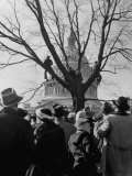 Large Crowd of Spectators Enjoying the Celebrations  During the Inauguration of Harry S Truman