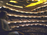 Auditorium of Metropolitan Opera Packed to Capacity  Night of Inaugural Performance  Lincoln Center