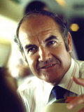 George McGovern During His Presidential Campaign