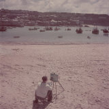 St Ives Artists' Colony  Cornwall  England