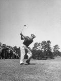Gene Sarazen in Swinging Motion