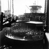 Commuters Crowded Aboard Staten Island Ferry