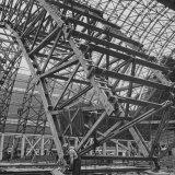 Construction of Blimp Hangar