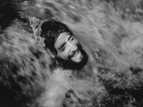 Ecstatic Hippie Probably Bathing in Waterfall at Woodstock Music Festival