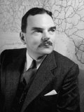 Portrait of New York Governor Thomas E Dewey