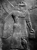Eagle-Headed  Winged Assyrian God