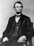 Seated Portrait of President Abraham Lincoln